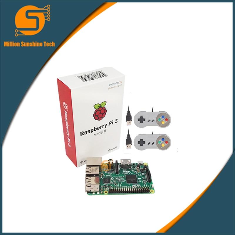 Raspberry pi 3 +2 pcs game handle for Raspberry pi 3 B free shipping free shipping pure nature raspberry extract raspberry ketones powder 500mg x 100caps