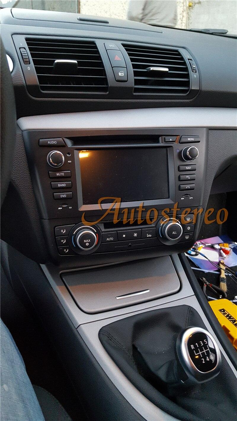 New 4 core Android7.1 Car GPS Navigation DVD Headunit For BMW 1 Series E81 E82 E87 E88 116i 118i Car Stereo Unit auto multimedia