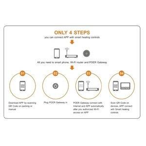 Image 3 - Шлюз для беспроводного программируемого беспроводного цифрового Wi Fi термостата, умный радиатор, клапан, детектор газа