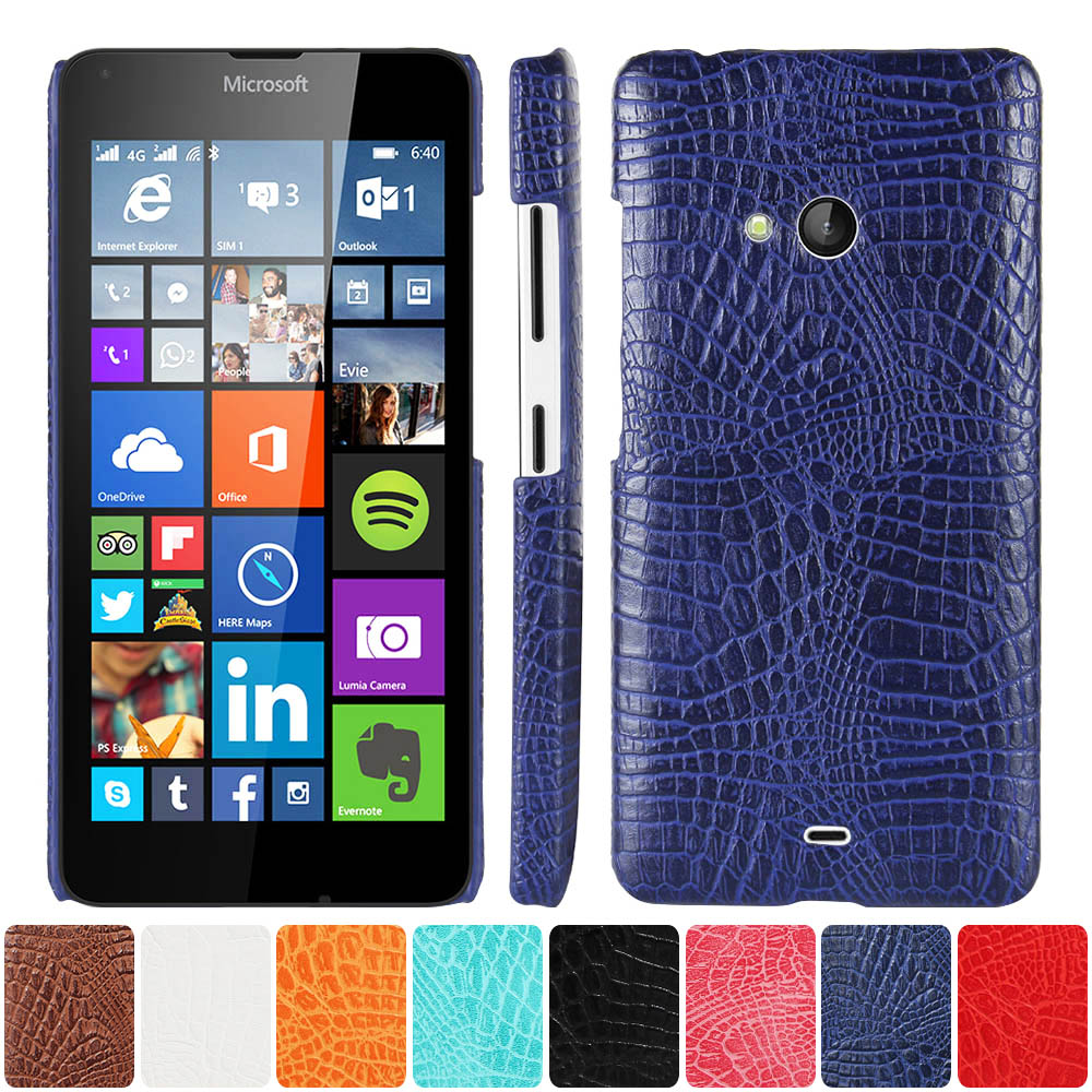 the best attitude 81bcb dd7df US $4.69 |Leather Case for Microsoft Lumia 540 Dual RM 1140 RM 1141 Phone  Bumper Fitted Case for Nokia Lumia540 RM 1140 1141 Hard PC Cover-in Phone  ...