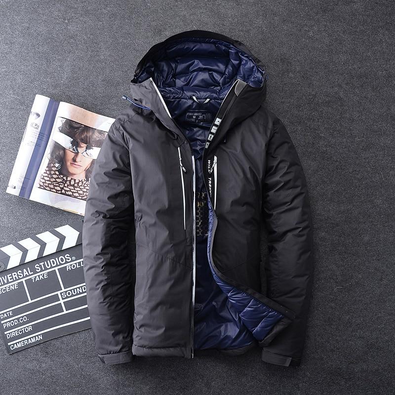 low priced b914d e41ba 2019-Marque-Hommes -Veste-D-hiver-Chaud-pais-V-tements-70-Blanc-Duvet-de-Canard-Hommes.jpg