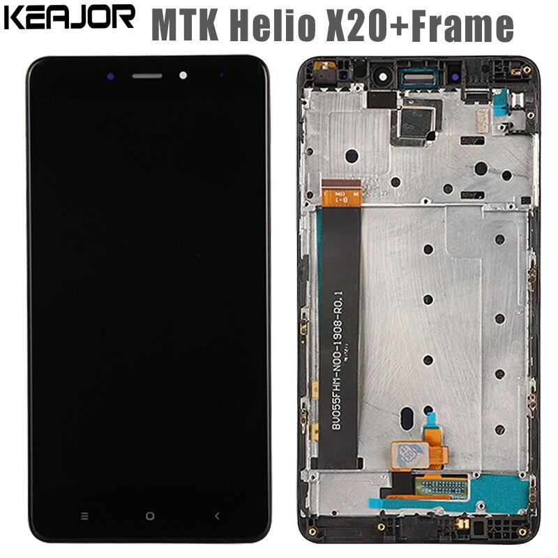 Para Xiaomi Redmi Nota 4 pantalla LCD + pantalla táctil + marco ...