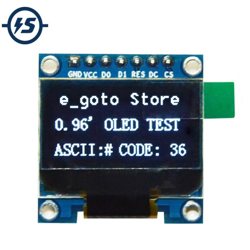 IS 0.96 inch 128X64 IIC SPI Serial White OLED Display Module I2C LCD Screen Board 0.96 SSD1306 for Arduino/stm32/51 Oled I2C
