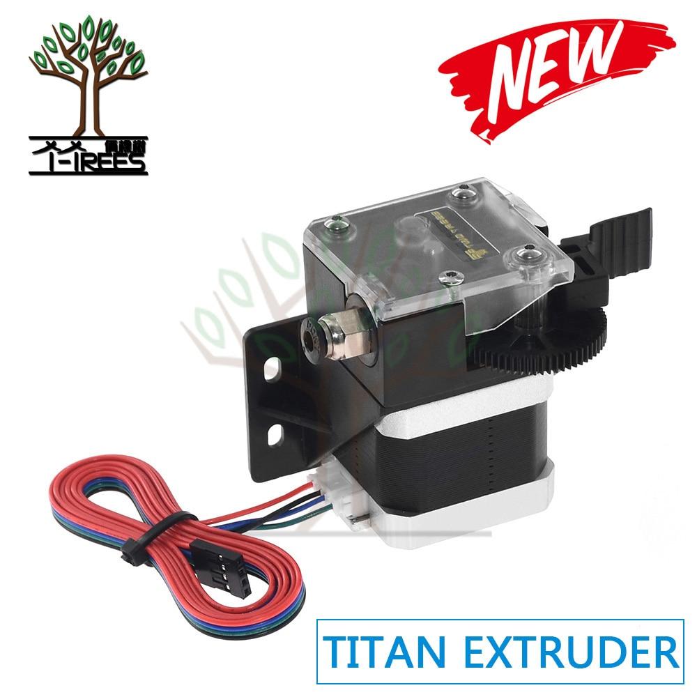 Titan Extrusora Kit Completo con NEMA 17 Motor Paso A Paso para la Impresora 3D ssupport tanto de Accionamiento Directo y Bowden Soporte De Montaje