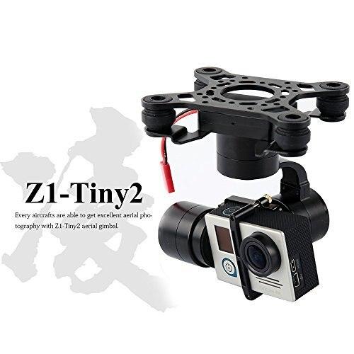 F16637 Zhiyu Z1-Tiny 2 3-AxLE Brushless FPV Aerial Camera Gimbal for Gopro Hero 4 DJI Phantom 2 3 F450 F550 X525 RC Quadcopter