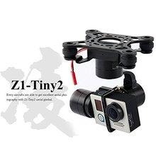 F16637 Zhiyu Z1-Tiny 2 Ejes Sin Escobillas Cámara Gimbal FPV Aérea para dji phantom 2 3 f450 f550 x525 gopro hero 4 rc Quadcopter