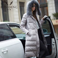 BOSIDENG 2016 new Warm long jacket women slim duck down coat Winter High Quality Female fur Collar  thick hooded B1501160
