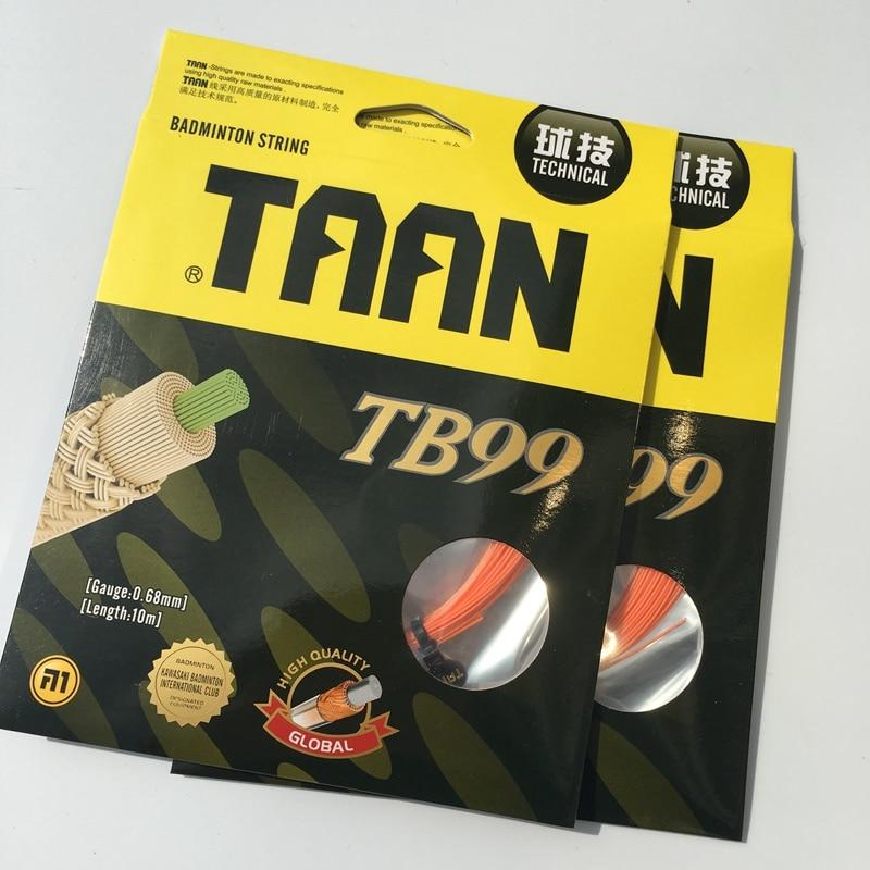 32LBS 1 Pc TAAN TB99 Badminton String 10M 0.68MM Technical Badminton Racket String