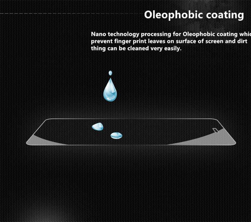 2.5d 0.26 ملليمتر قسط الزجاج المقسى فيلم لآسوس zenfone الذهاب ZC500TG 500TG المزدوج سيم 5.0 حامي شاشة واقية السينمائي