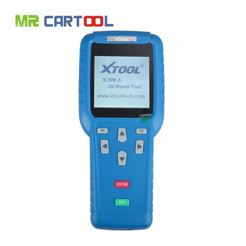 2017 Top Quality Original XTOOL Oil Reset Tool X-200 X200 Airbag Reset  Scanner Online Update 68b25e1e4f9