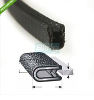 1 16 01 60 In Length Door Guards Protector Sound Proof Trim Molding Car PVC Rubber