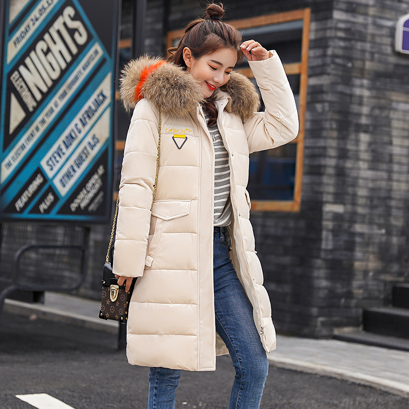 4b3bbd4f3c9 SWREDMI 2018 Student Winter Long Clothing Women Cute Girls Parkas Plus Size  3XL Thicken Warm Parkas Down Cotton Coat Lady Jacket