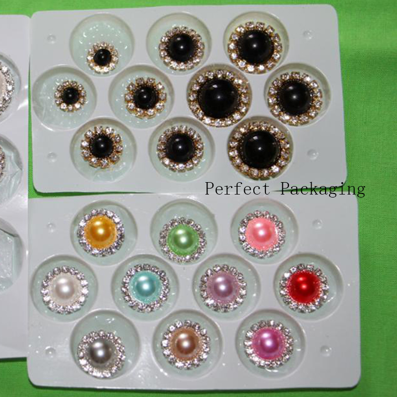 HTB1M69TJHvpK1RjSZPiq6zmwXXak ZMASEY 10pcs/Lot 15mm Pearl Wedding Diamond buttons Factor Outlets Rhinestones buttons DIY Hair Accessory Decorative button