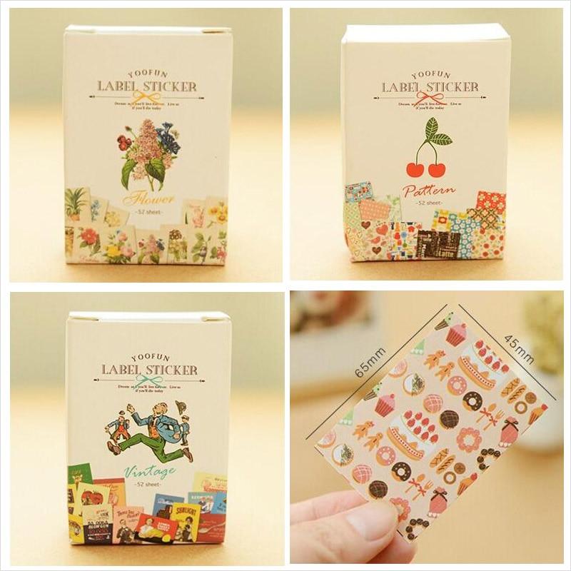 52 pcs/bag DIY Mini Cute Kawaii...