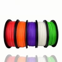 Creality 3D Printer PLA Filament 1kg/Roll 1.75mm Material for Creality MakerBot RepRap 3D Printer 20 Color Optional