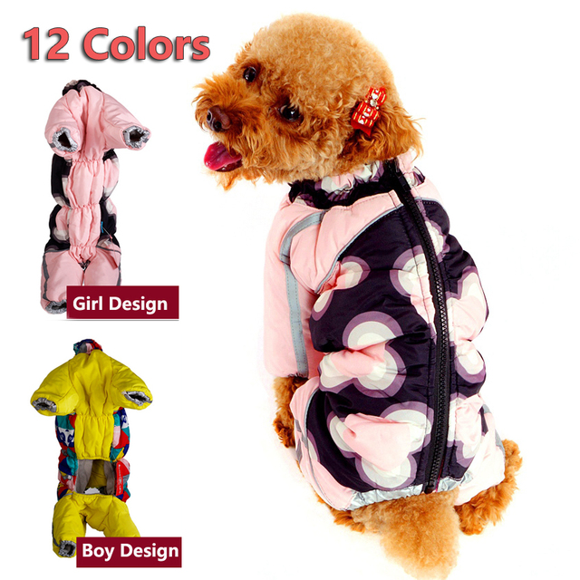 New Puppy Dog Clothing For Pets Luxury Zipper Jackets Small Big XXL Animal Pet Winter Warm Down Yorkshire Dachshund Cat Products