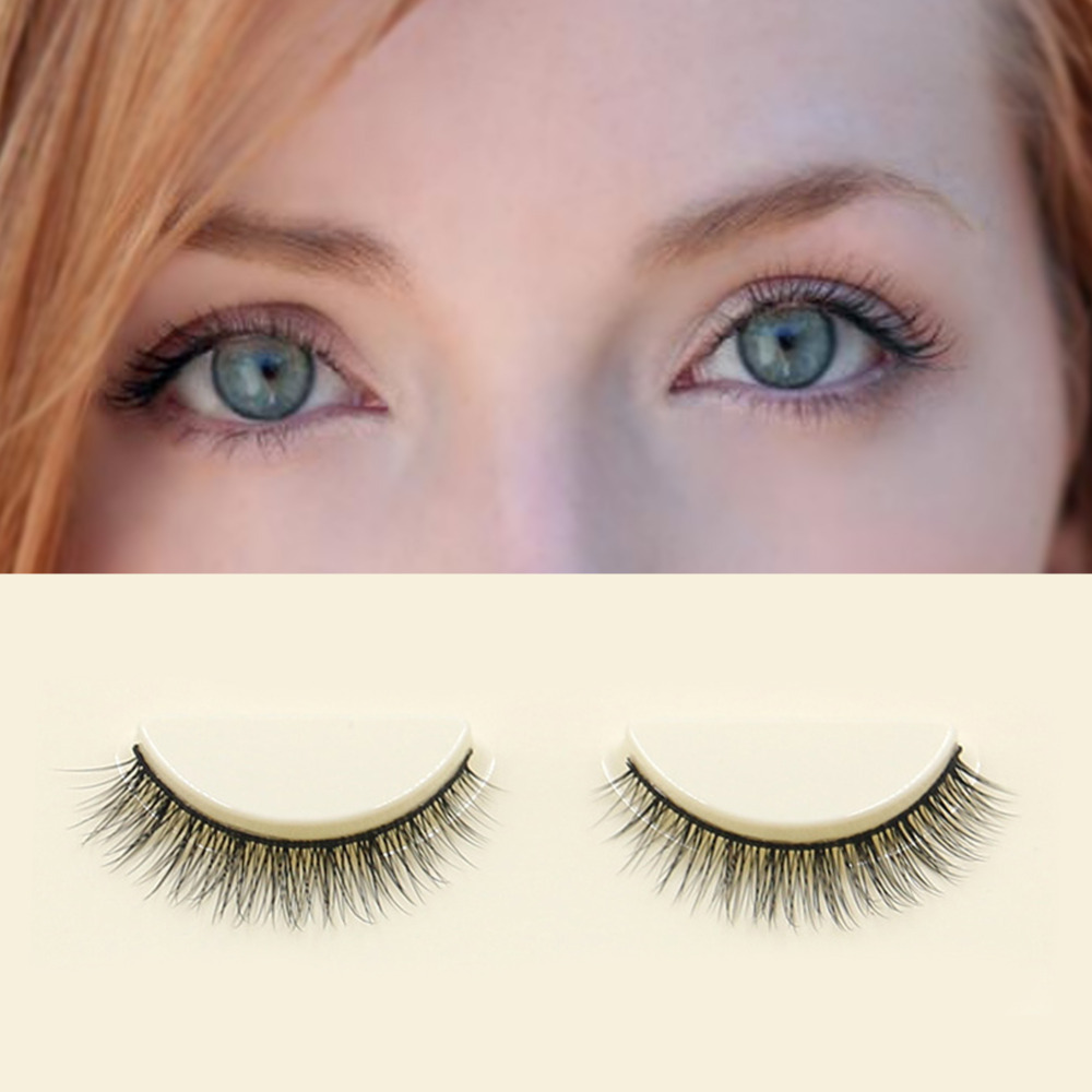 Beauty Eyes Makeup Fashion Women Long Bushy Natural False Eyelashes 3D High-end Fiber Extention Eye Lashes Eyelash Makeup