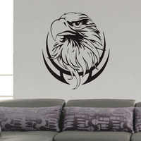 Eagle Stickers For Wall Decoration Bird Of Prey Wall Stickers Home Decor Vinyl Art Wall Decals