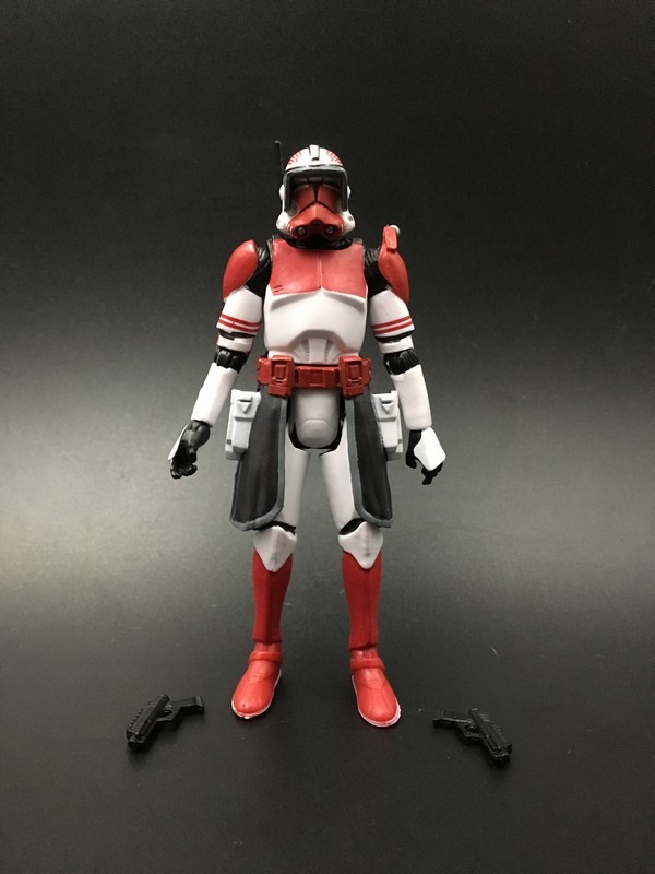 Star Wars Commander Thorn 3.75 Figure  Guard Red Clone Trooper Free shipping iron commander экскаватор металл 234 дет 816b 136 г44213
