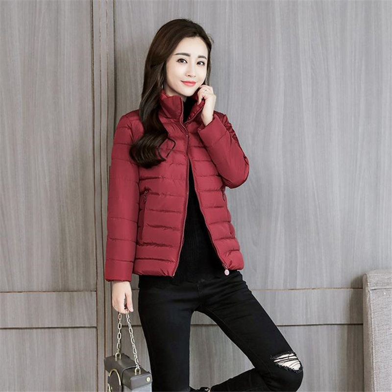 Woman Spring Plus Size Down   Parkas   Female Autumn Oversizd Down Jackets Women Warm Abajo Chaqueta Lady Slim Doudoune Abajo Jacket