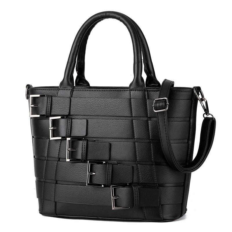 2017 Female Retro Bag Handbag PU Leather Single Shoulder Bag Fashion Crossbody Bags Zipper Messenger Bag