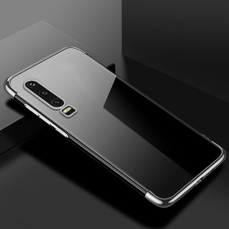 For-Huawei-P30-P20-Lite-P20-Pro-Y7-Y6-Pro-Y9-2019-Case-Soft-Silicone-Plating TYITY