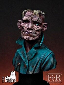 1/12 resin bust character sci-fi movie geek creature GK white model hand model spot X37