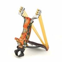 Sapan için Güçlü ve Dayanıklı Metal Mancınık Açık Avcılık Oyunları Ağır Paslanmaz Çelik Mancınık