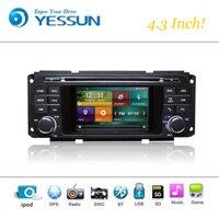 Car DVD Player System For Chrysler Jeep Dodge Autoradio Car Radio Stereo GPS Navigation Multimedia Audio