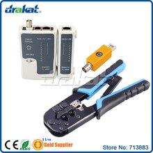 RJ45 RJ11 Cable Tester Crimping Tool