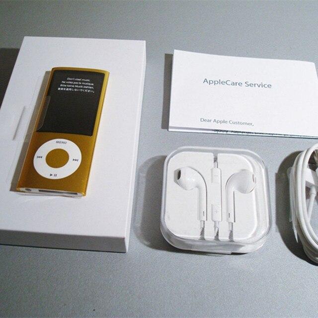New Gold For Apple Ipod Nano 5th Generation 8gb Fm Video E Book With