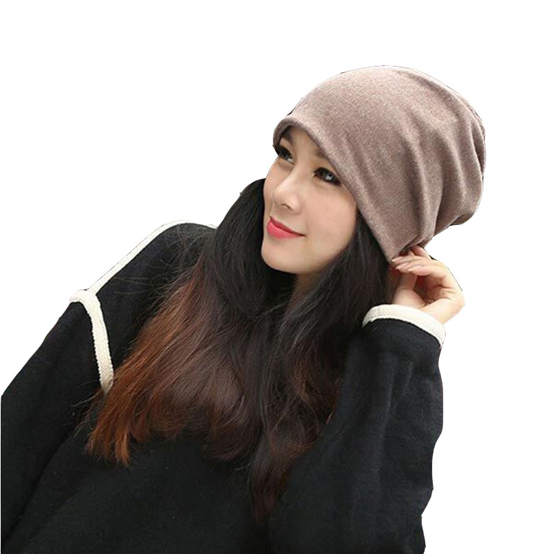Skullies -2017 New Arrival Hedging Hat Female Autumn And Winter Days Wool Cap Influx Of Men And Women Scarf Scarf Hat #1866729 skullies