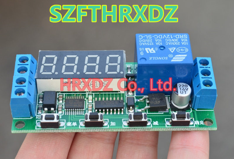 SZFTHRXDZ   The time switch of 12V relay module is triggered by the time delay switch on and off circuit the darlington module of the sk50da120d 50a1200v