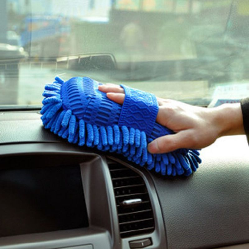 LEEPEE Car wash gloves cleaning products Window Cleaning Car Washer cleaning sponge Car Accessories