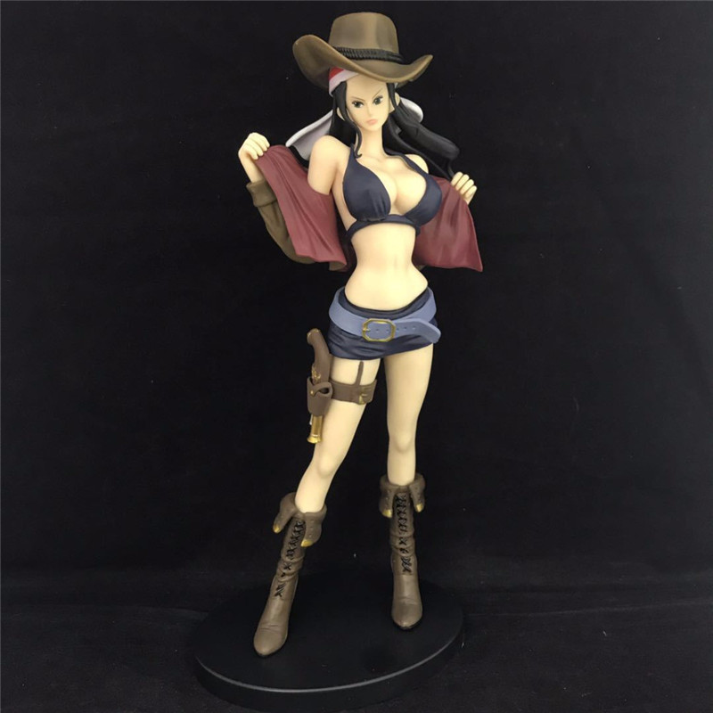 One Piece Film Gold Nico Robin Jeans Pirate Ver Anime Sexy Figures PVC Action Figures Collectible Model Doll Toys 26.5cm L1296 ...