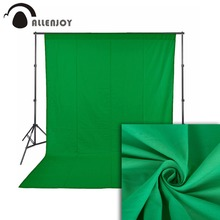 Allenjoy photography backdrop photo studio green screen chromakey non-woven fabric hromakey prossional background photo shoot allenjoy photography backdrops green screen hromakey background chromakey non woven fabric professional for photo studio