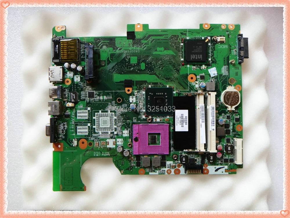 578053-001 DA00P6MB6D0 for HP Compaq Presario CQ61 G61 notebook CQ61 G61 motherboard for Intel GMA DDR2 GL40 s478 клавиатура для ноутбука hp compaq presario cq61 g61 series topon top 69773 черный