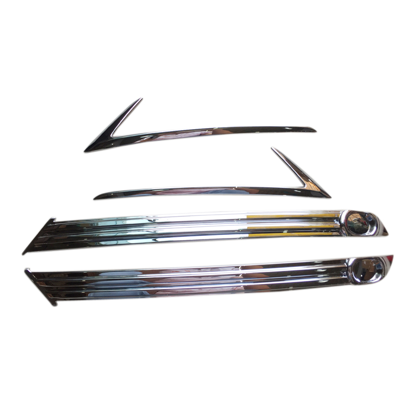 <font><b>Accessories</b></font> Exterior ABS Front & Rear Fog Light Cover Trim for Mazda CX-5 CX5 2017 2018