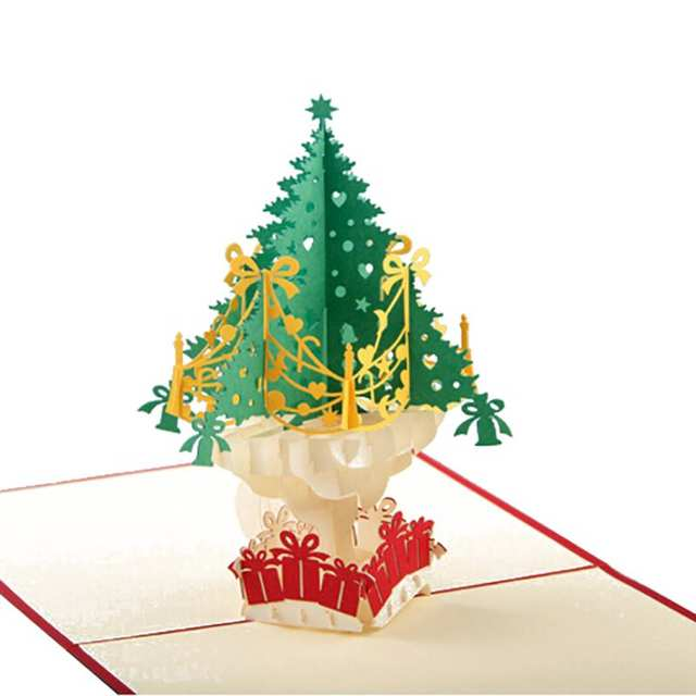 Weihnachtskarten Personalisiert.Us 1 34 30 Off 1 Stücke 3d Weihnachtskarten Gruß Büttenpapier Karte Personalisierte Andenken Postkarten Hochzeit Geburtstag Dekoration In 1