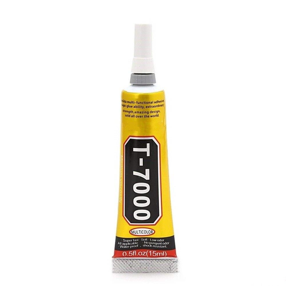 15ml T-7000 More Powerful New Epoxy Resin Adhesive T7000 Black Liquid Glue Super Sealant Handset Touch Screen Rack Maintenance