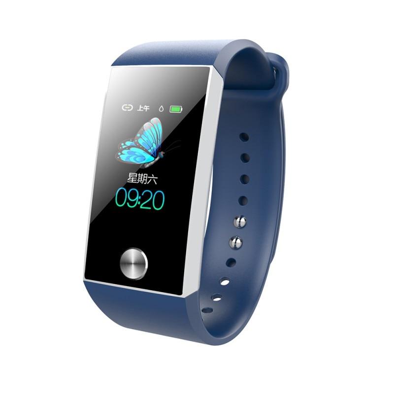 S28 Color Screen Smart Bracelet 1.14 Inch Smart Wristband Blood Pressure ECG Heart Rate Monitoring Smart WatchS28 Color Screen Smart Bracelet 1.14 Inch Smart Wristband Blood Pressure ECG Heart Rate Monitoring Smart Watch