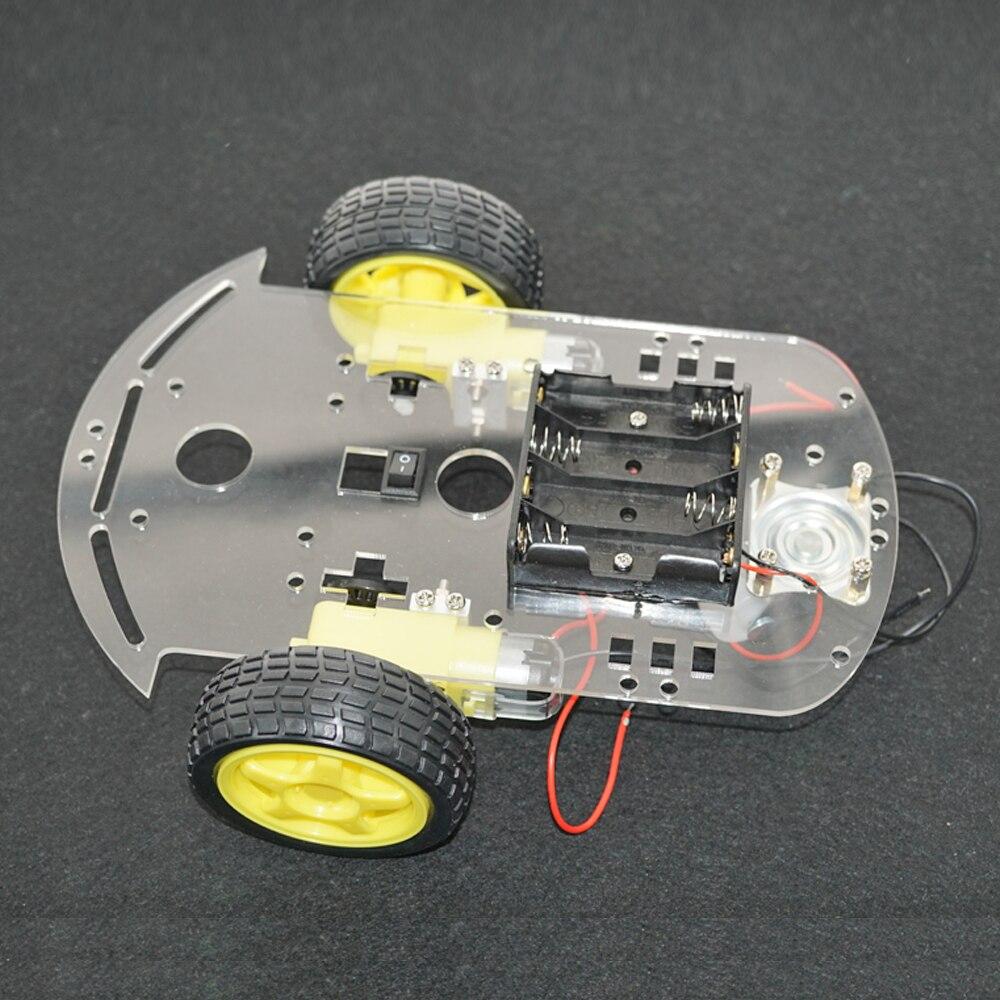 Sammeln & Seltenes High-tech-spielzeug High Tech Diy Roboter Kit Linie Tracing Auto Chassis Auto Kit Mit Geschwindigkeit Encoder Battey Halter Für Arduino Klar Und GroßArtig In Der Art