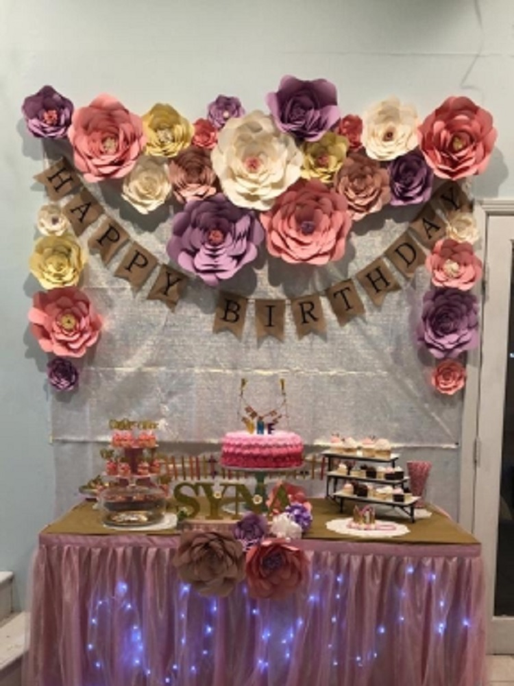 Top 10 Largest Large Paper Flowers For Decorations Brands And Get