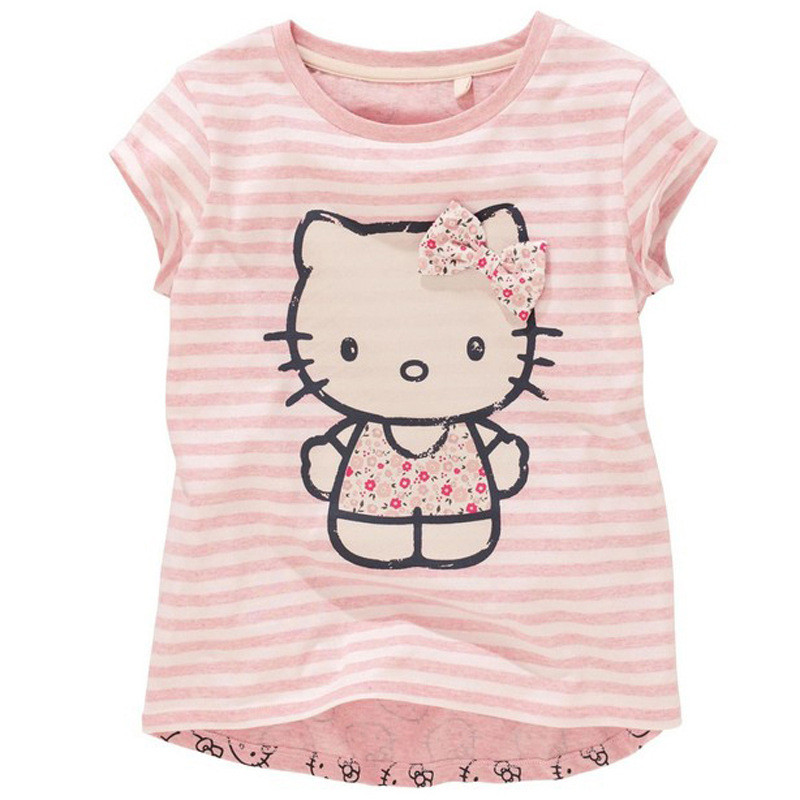 Buy baby girls cartoon hello kitty t for Hello kitty t shirt design