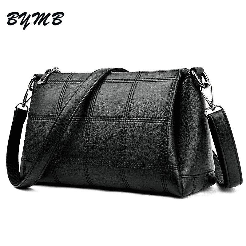 1289ae85d331 Lattice Bag 2018 Luxury Handbags Women Bags Designer High Quality Leather  Women s Shoulder Bag Ladies Plaid