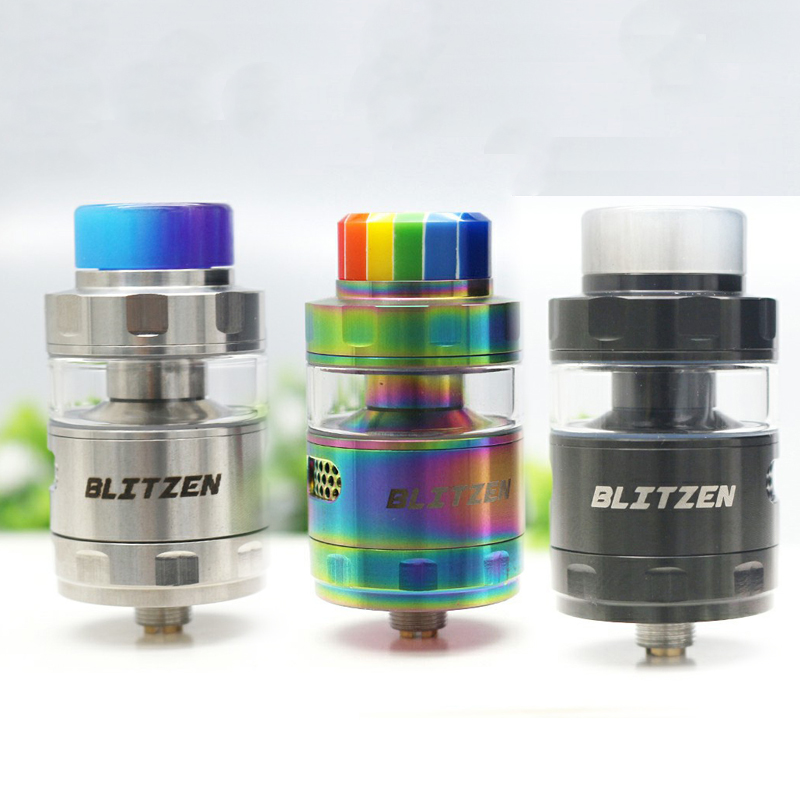 High Quality Blitzen RTA Atomizer Diameter 24mm Capacity 2ml/5ml For E-Cigarette 510 Thread Battery Box Mod
