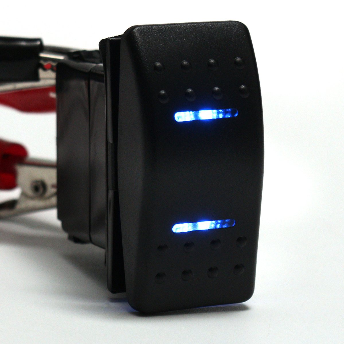 12 v 24 v LED Marine Schalter 7 Pins DPDT ON OFF ON 2 Lichter ...