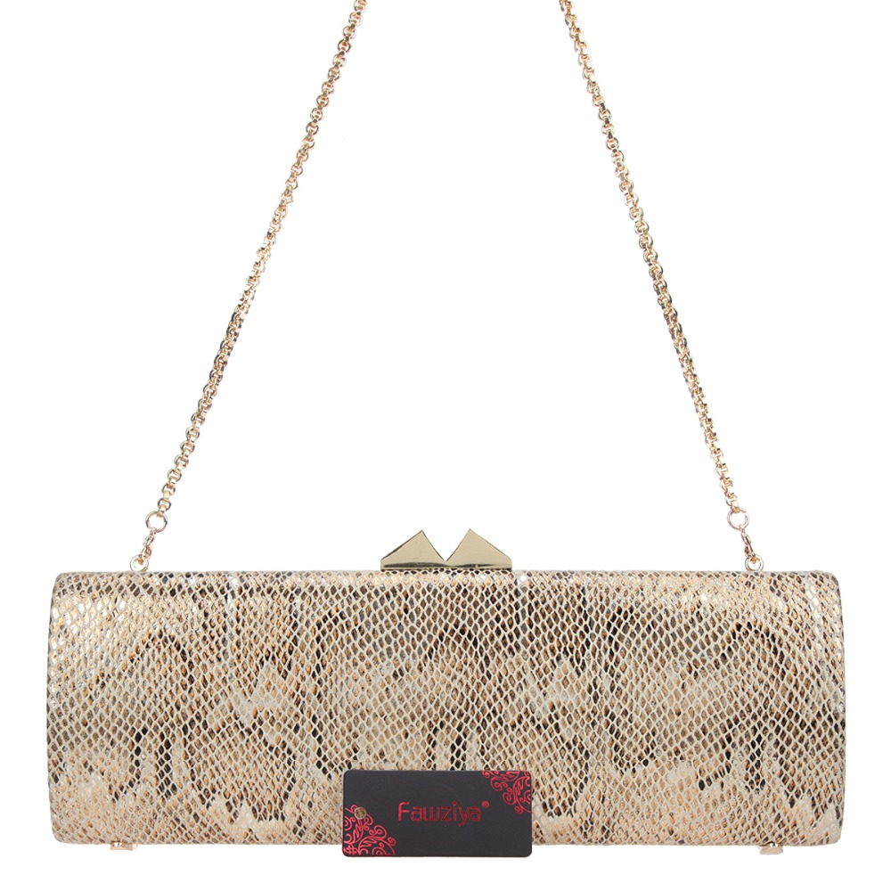 Fawziya Dressy Clutch Purses For Formal Occasion Snakeskin Bags For ... 8dcf1677a506