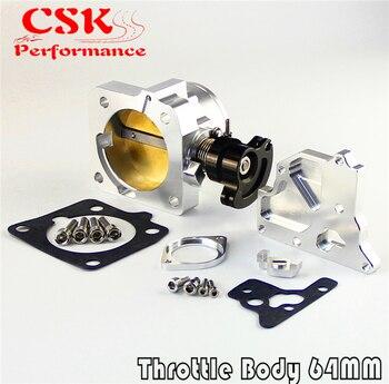 Yarış 64mm Pro Serisi Gaz Kelebeği Gövdesi 94-97 Mazda MX-5 Miata 1.8L BP-ZE Gümüş