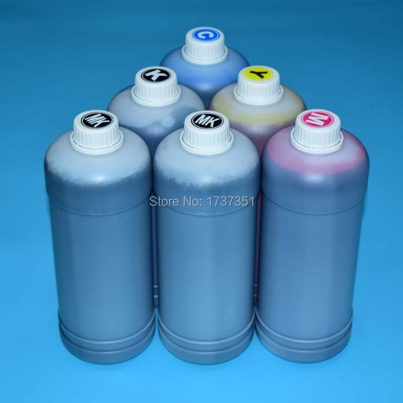 1000ml 1Liter refill ink PFI-107 dye and pigment ink with refill cartridge chip for Canon ipf770 ipf670 iPF680 IPF780 Printer buy 8 pieces refill ink cartridge get 1pc chip resetter for epson 7600 9600 printer with dye pigment ink cartridge